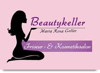 Kosmetiksalon logo  Willkommen - Beautykeller, Friseur- und Kosmetik-Salon, Dauerhafte ...